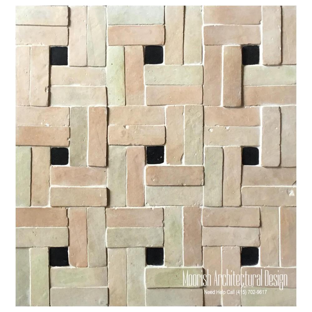 2 Quot X 6 Quot Moroccan Terracotta Brick Bejmat Tile