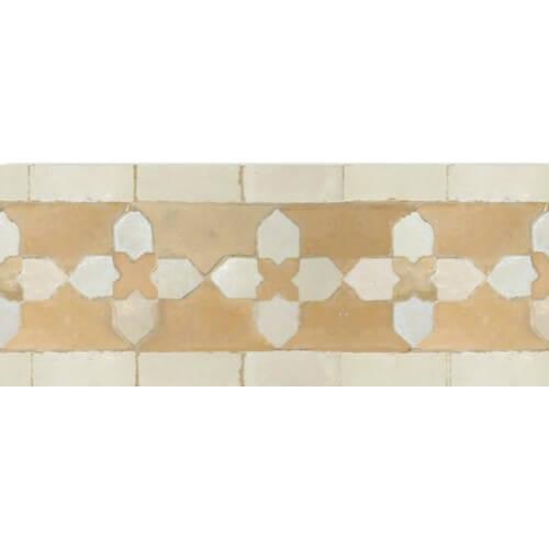 Moroccan Pool Tile Border