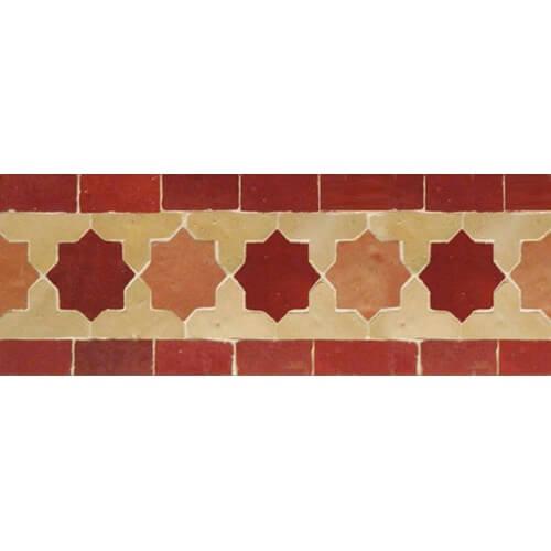 Moroccan Border Tile 16