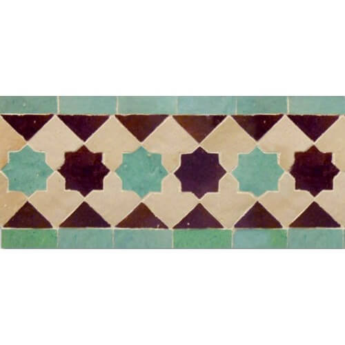 Moroccan Border Tile 17