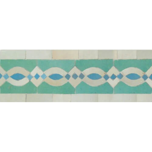 Moroccan Border Tile 18