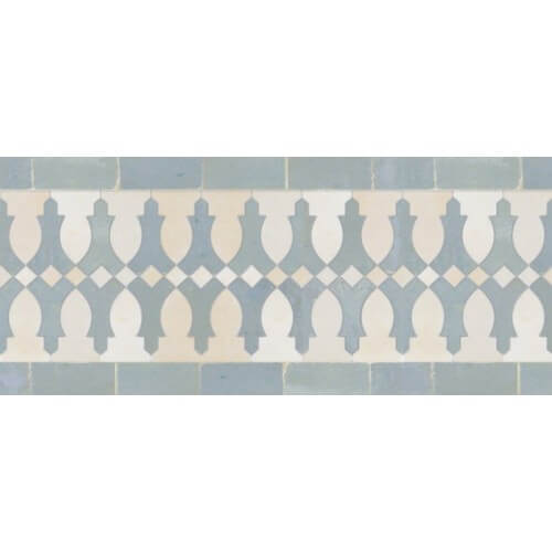 Moroccan border Tile Pattern