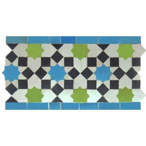 Moroccan Border Tile design
