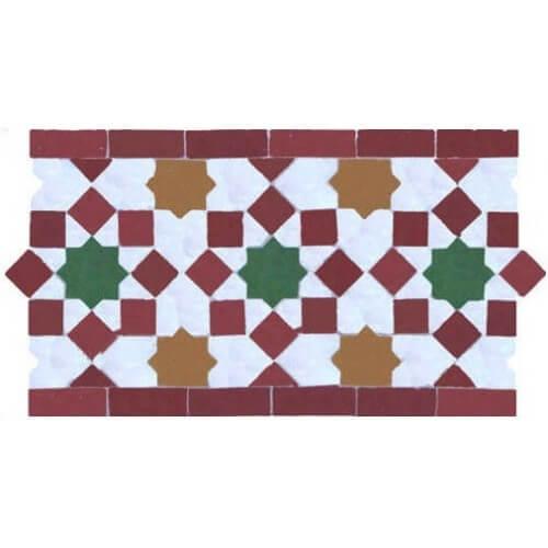 Moroccan Border Tile 24