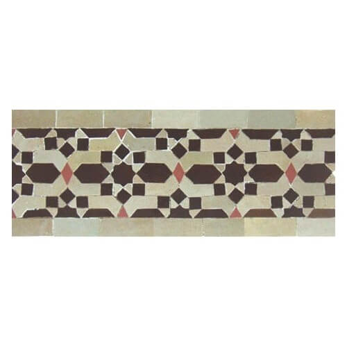 Moroccan Border Tile 26