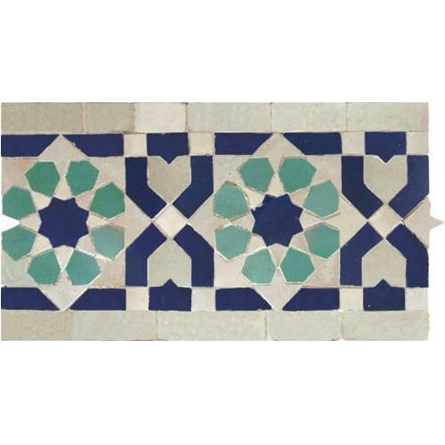 Moroccan Border Tile 27