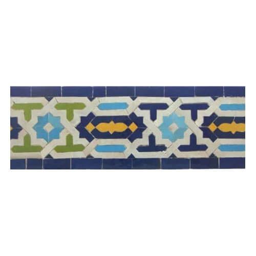 Moroccan Border Tile 28