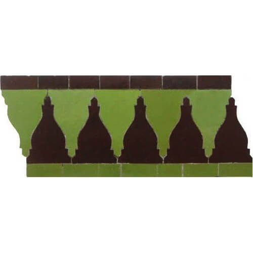 Moroccan Border Tile 32