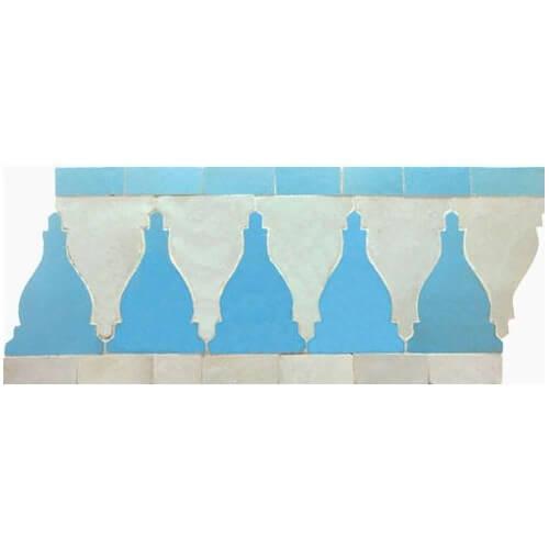 Moroccan Border Tile 33