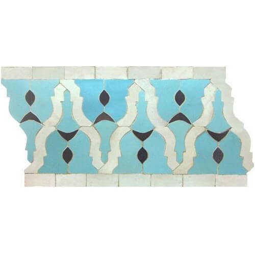 Moroccan Border Tile 34