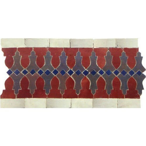 Moroccan Border Tile 35