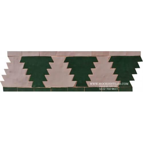 Moroccan Border Tile 62