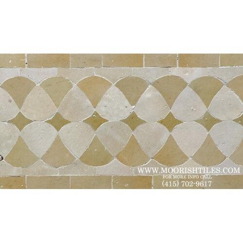 Moroccan Border Tile 67
