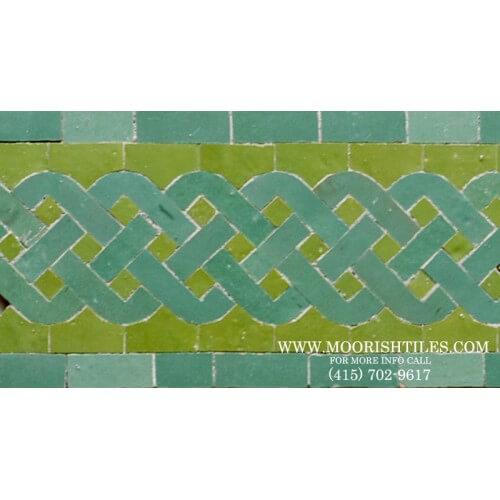 Moroccan Border Tile 68