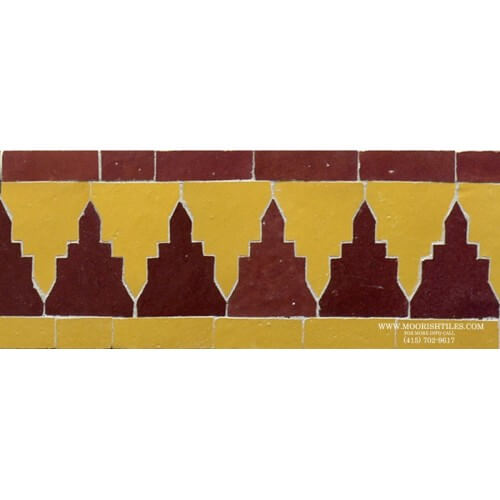 Moroccan Border Tile 72