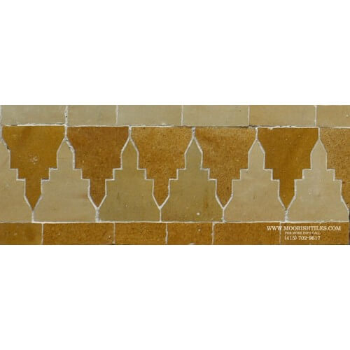 Moroccan Border Tile 74