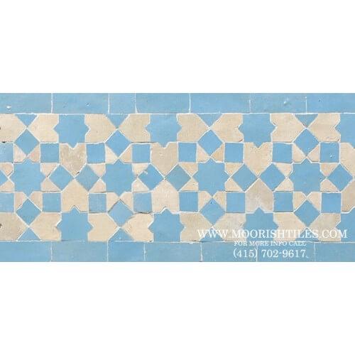 Moroccan Border Tile 75