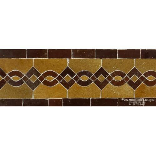 Moroccan Border Tile 77