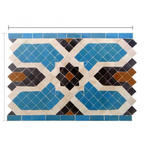 Moroccan pool Tile