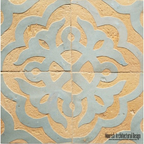 Rustic Moorish Tile 01