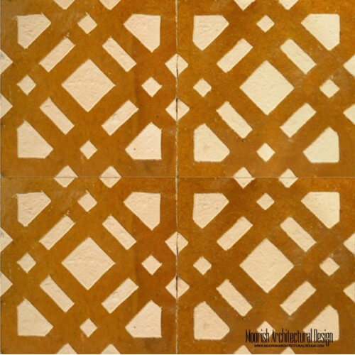 Rustic Moorish Tile 04
