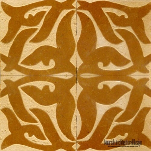 Rustic Moorish Tile 05