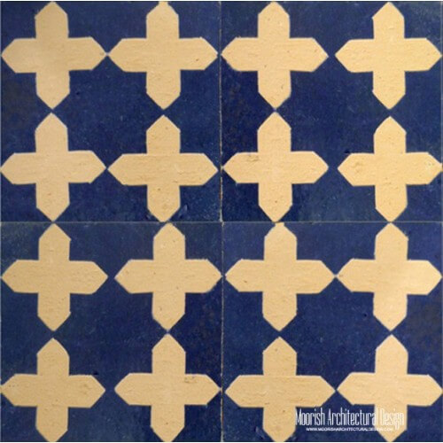Rustic Moorish Tile 07