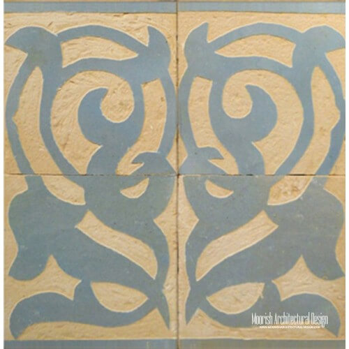 Rustic Moorish Tile 13