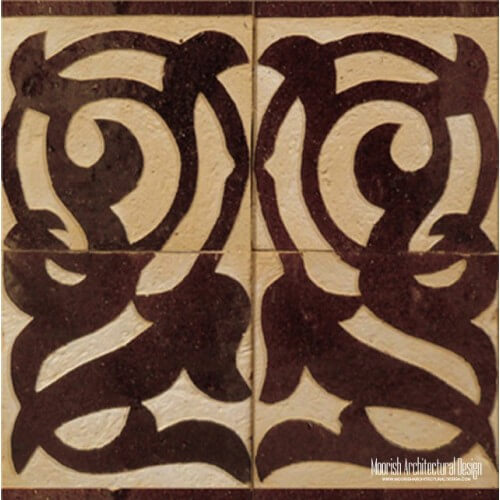 Rustic Moorish Tile 15