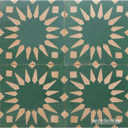 Rustic Moorish Tile 19