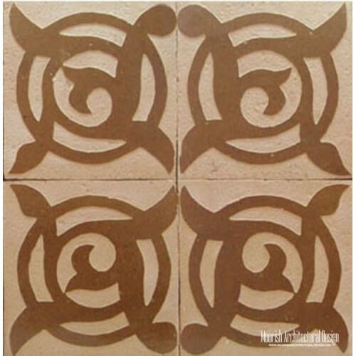 Rustic Moorish Tile 21