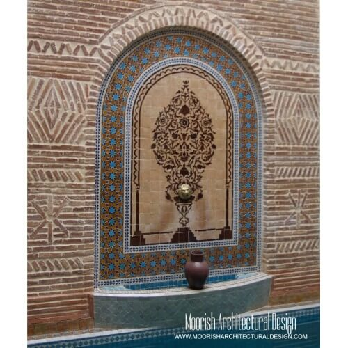 Moroccan Fountain 06