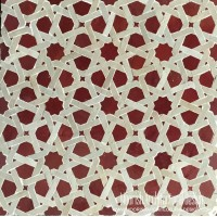Red Moroccan Tile