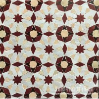Red Moorish Tile