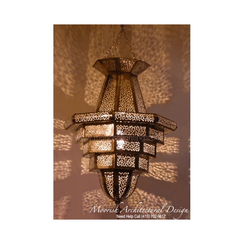 Moroccan bathroom pendant