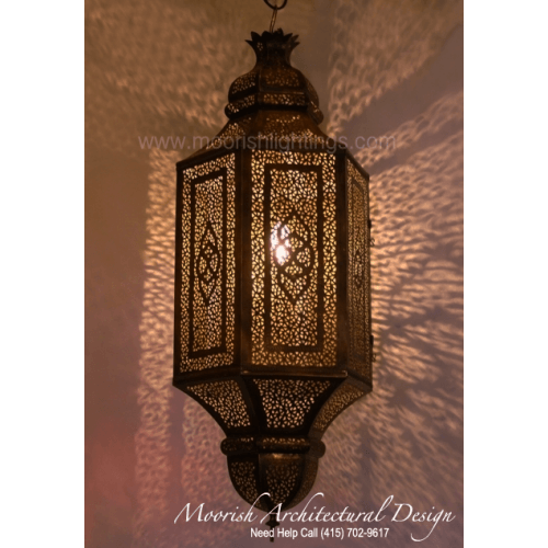 Traditional Moroccan Pendant 10