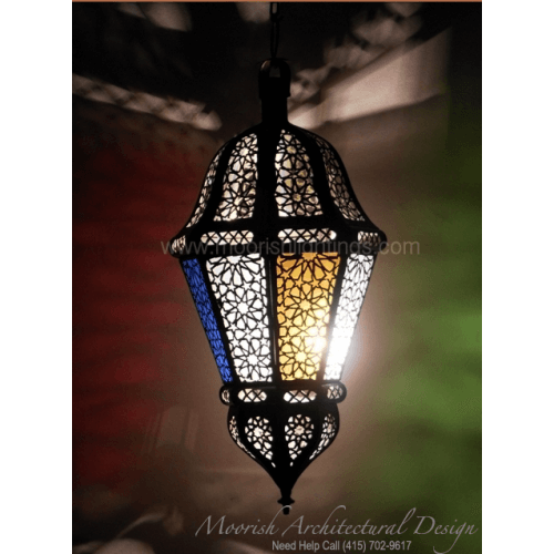 Large Moroccan pendant
