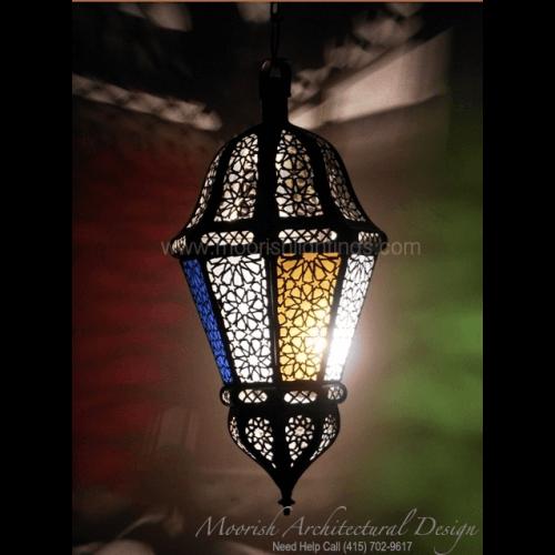 Large Moroccan pendant