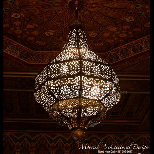 Traditional Moroccan Pendant 19