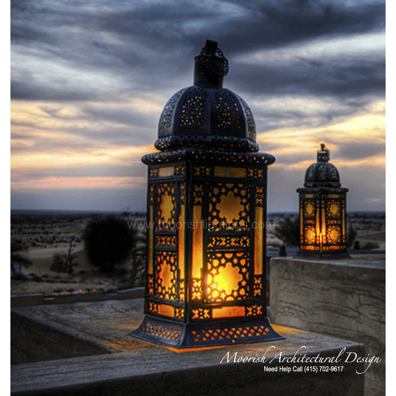 Exterior Lighting: Moroccan Garden Lamp