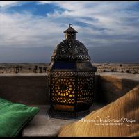 Moroccan Landscape lighting