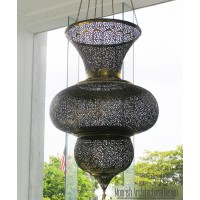 Large Moroccan Pendant Light