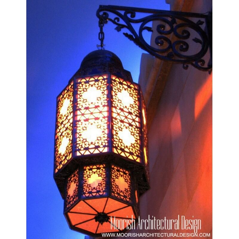 Moroccan Outdoor Wall Sconce