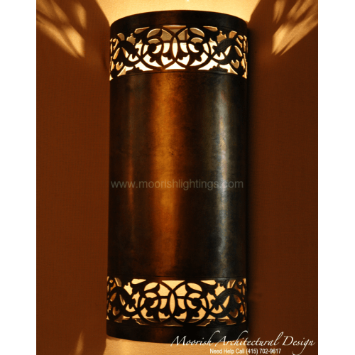 Traditional Moroccan Sconce 07