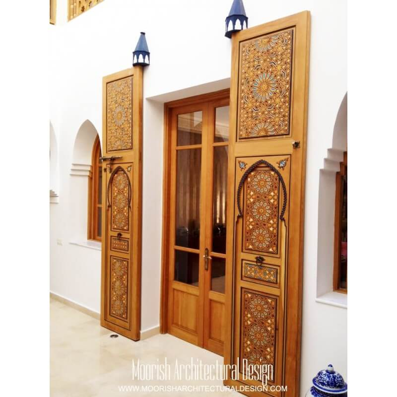 Large Moroccan Door