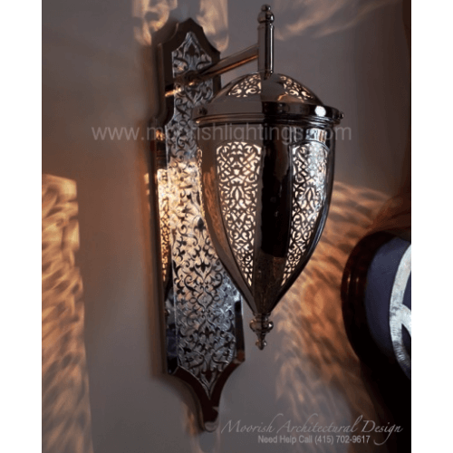 Traditional Moroccan Sconce 18