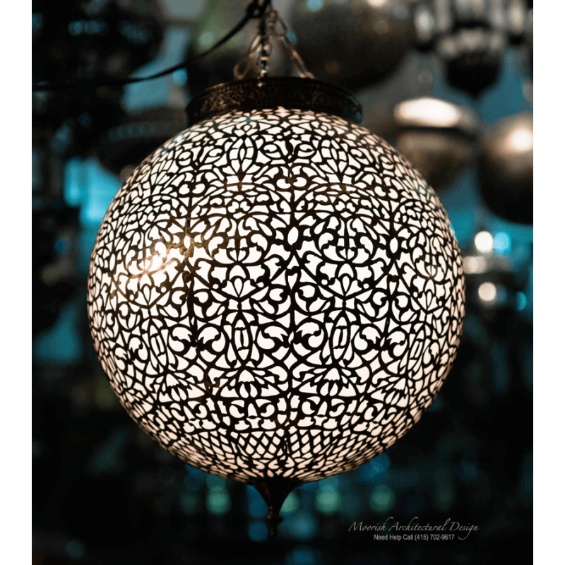 Ethnic pendant light