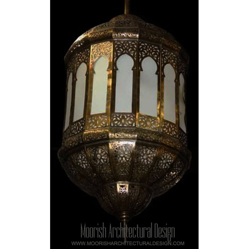 Moroccan Lantern UL Listed