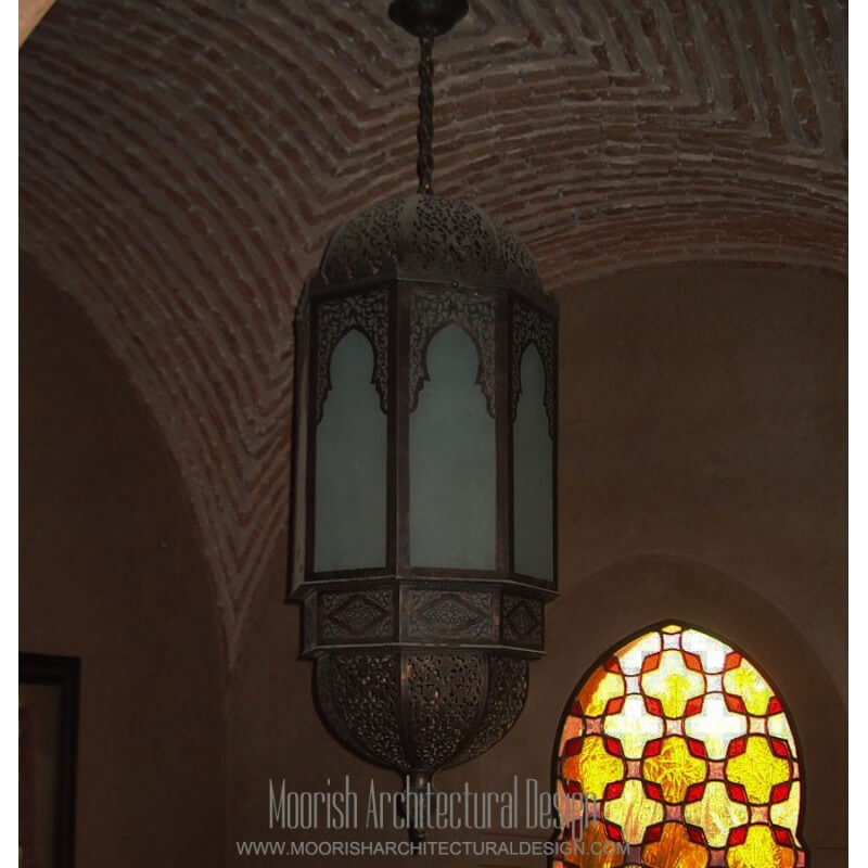 Large Moorish Lantern