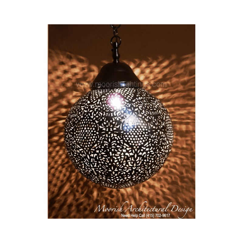 Sphere Bathroom Pendant Light